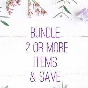10% off when you bundle 2 items or more